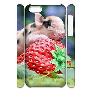C-Y-F-CASE DIY Little Pig Pattern Phone Case For iPhone 5C hjbrhga1544