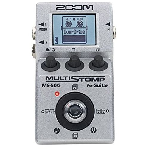 Zoom MS50G MultiStomp Guitar Pedal (Best Guitar Practice Amp 2019)