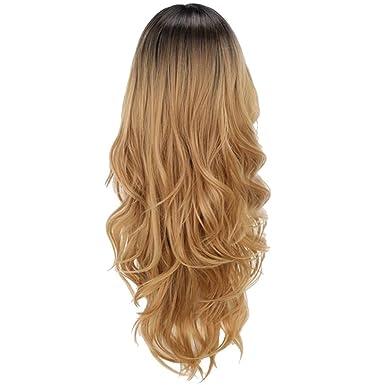 Jorich de peluca Peluca De Pelo Natural para Mujeres ...
