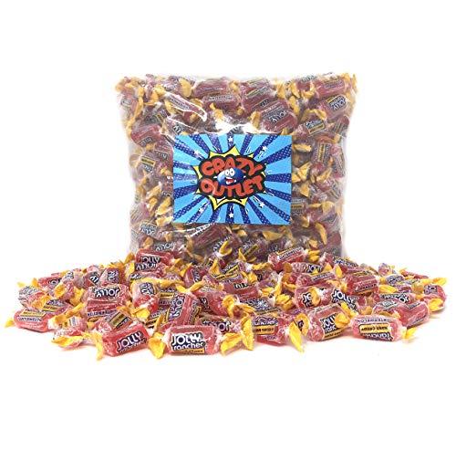 CrazyOutlet Pack - Jolly Rancher Watermelon Hard Candy, Bulk Candy Pack, 2 lbs