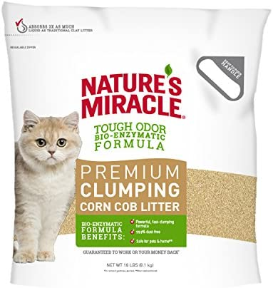 Natures Miracle Premium Clumping Litter