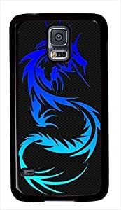 Blue Dragon PC Case Back Cover for Samsung Galaxy S5 Black Kimberly Kurzendoerfer