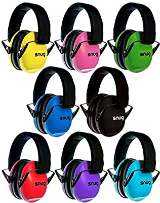 Snug Kids Earmuffs / Best Hearing Protectors – Adjustable Headband Ear Defenders For Children and Adults