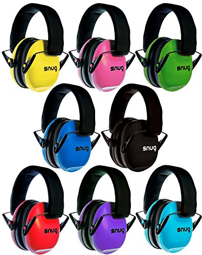 Snug Kids Earmuffs/Hearing Protectors – Adjustable Headband Ear Defenders For Children and Adults