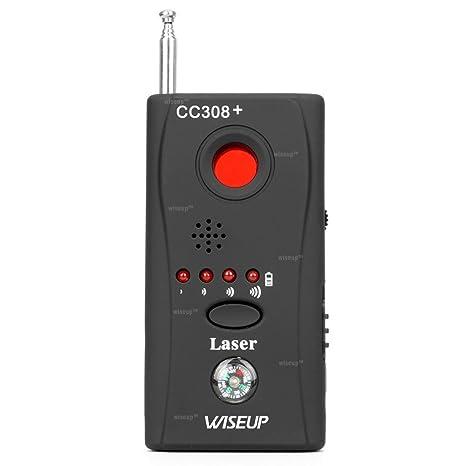 Wiseup portátil anti espía Detector inalámbrico cámara dispositivo de señal RF Detector GSM Bug Finder
