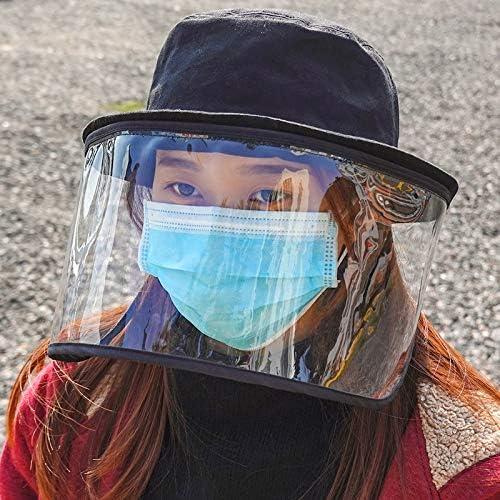 LYFHMP Antiniebla de sombrero de alta resolución, remotas UAV máscaras móviles, cascos