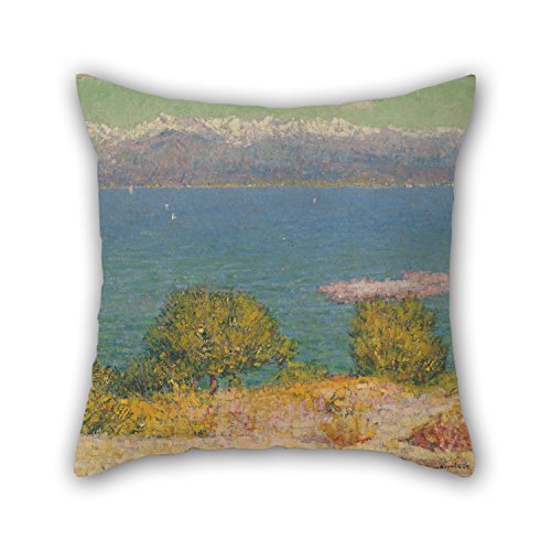 Throw Pillow Covers 20 X 20 Inches / 50 By 50 Cm(twice (Antibes Collection)