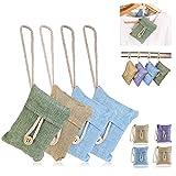 Itian Natural Air Purifying Bamboo Charcoal Bag Air Freshener 4 Packs of 100g