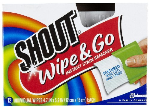 Stain Removal Wipes - Shout Stain Remover Wipes 12ct