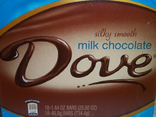 Dove Milk Chocolate Bars ct