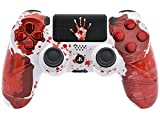 """Bloody Hands"" Ps4 Rapid Fire Custom Modded Controller 40 Mods for COD BO3"