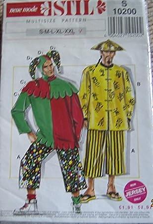 Neue Mode Stil Schnittmuster S 10200 - Herren Faschings Kostüme ...