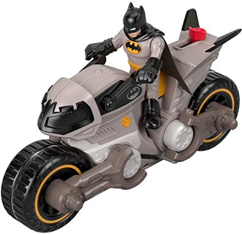 Fisher-Price FXW89 IMAGINEXT DC Super Friends Batman & Batcycle, ()