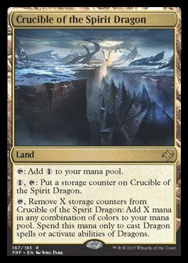 (Magic: the Gathering - Crucible of the Spirit Dragon (167/185) - Fate Reforged)