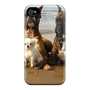 Hot Style QLRcYAy8618NzRDv Protective Case Cover For Iphone4/4s(friends Enjoying The Beach)