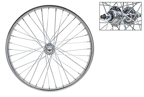 Wheel Master Rear Bicycle Wheel 20 x 1.75, 36H, Steel, Bolt On, Silver by WheelMaster