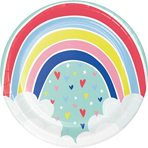 Over the Rainbow Paper Plates, 24 ct ()