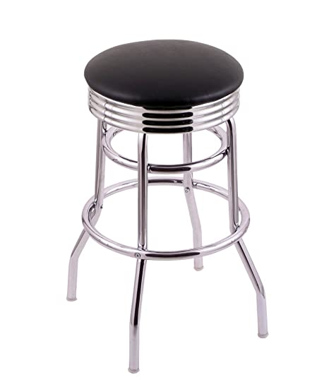 Miraculous Amazon Com Holland Bar Stool Company C7C3C25Blkvinyl Beatyapartments Chair Design Images Beatyapartmentscom