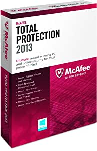 McAfee Total Protection 1 PC 2013
