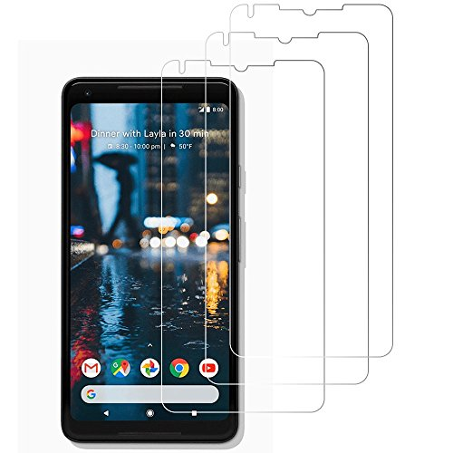 hot sale (3 Pack) Gzerma for Google Pixel 2 XL Screen Cover - Shockproof, Case Friendly, Bubble Free, Easy Installation, High Definition Clear Skin Protector for Google Pixel 2 XL 6.0 Inch 2017 Smartphone