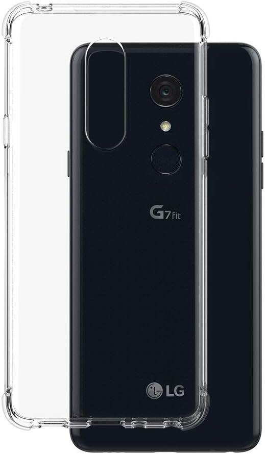 Foluu - Carcasa de Silicona para LG G7 Fit (Transparente ...