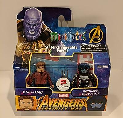 Minimates Marvel Avengers Infinity War Star-Lord & Proxima Midnight Walgreens Minifigures