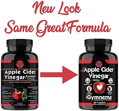 Angry Supplements Apple Cider Vinegar Pills for Weight Loss - Natural Detox Remedy Includes Gymnema, Cinnamon, CLAS, and Garcinia for Complete Diet and Health - Starter Kit or Gift (6-Bottles) 2