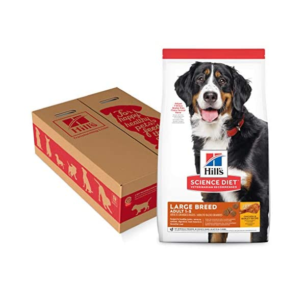Hill's Science Diet Dry Dog Food, Adult, Large Breed, Chicken & Barley Recipe, 35 LB Bag