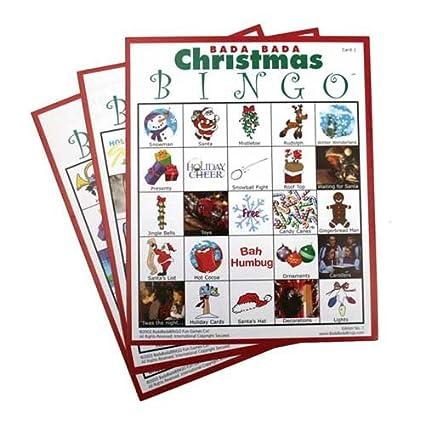 christmas bingo set of 20 cards - Christmas Bingo