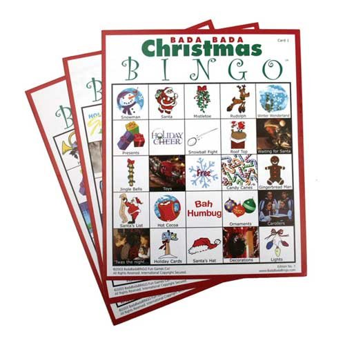 Christmas Bingo - Set of 20 Cards
