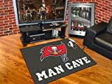 Tampa Bay Buccaneers Man Cave All-Star Mat 33.75x42.5 - Licensed Tampa Bay Buccaneers Gifts