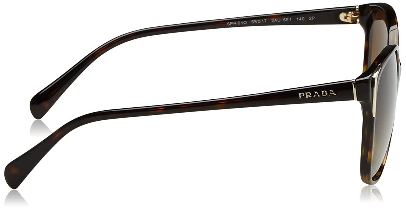 70cd97d1a78ec Amazon.com  Prada Sunglasses - PR01OS   Frame  Havana Lens  Polar Brown  Gradient  Prada  Sports   Outdoors