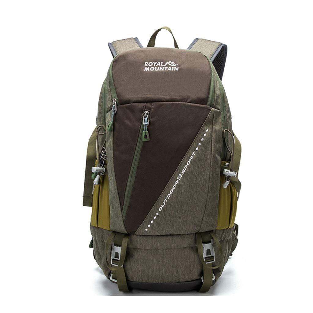 屋外バックパック 38Lアウトドアバックパック軽量で丈夫なトラベルバックパックハイキングキャンプアウトドア HBJP (色 : C) B07RPRRYFN C
