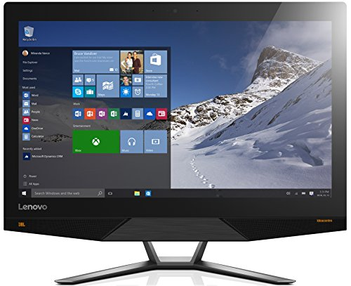 Lenovo ideacentre AIO 700 60,5 cm (23,8 Zoll QHD) All-in-One Desktop PC (Intel Skylake Core-i7-6700, 8GB RAM, 1TB HDD, 8GB SSD, NVIDIA GeForce GTX 950A, DVD, Windows 10) schwarz
