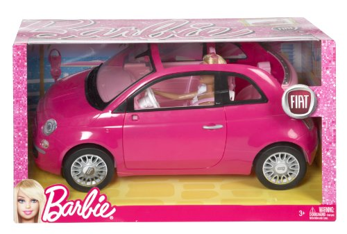 barbie fiat 500 con mu eca. Black Bedroom Furniture Sets. Home Design Ideas