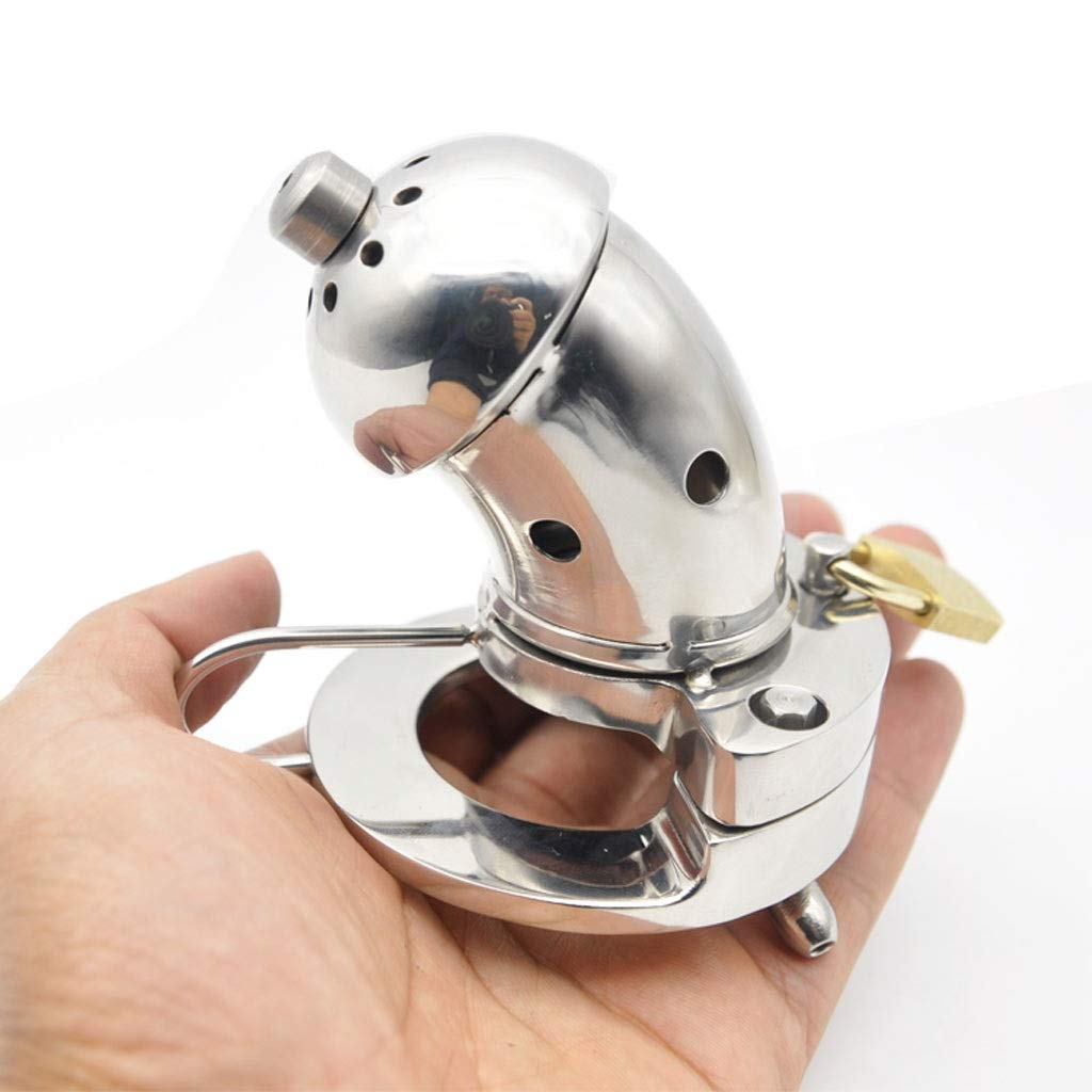 CXQ Fun Stainless Steel Metal Open Chicken Cage Health Toy (Size : 40mm)
