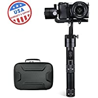 EVO RAGE-S 3 Axis Handheld Gimbal for Small Mirrorless Cameras | 1 Year US Warranty