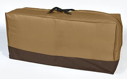 Delicieux Dobar Heavy Duty Waterproof Vinyl Patio Seat Cushion Storage Bag With  Rust Proof Zipper