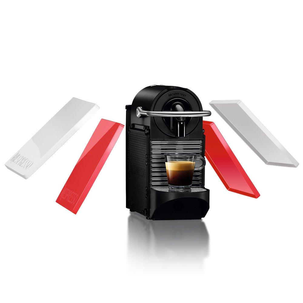 ネスプレッソ コーヒーメーカー ピクシークリップ ホワイト&コーラルレッド D60WR B016EO5X8Y  ホワイト&コーラルレッド