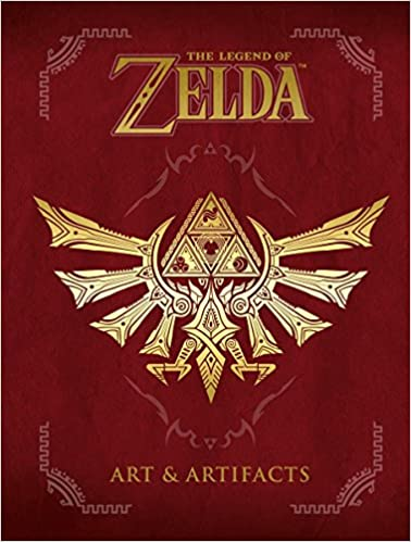 Legends of Zelda Art and Artifacts Book