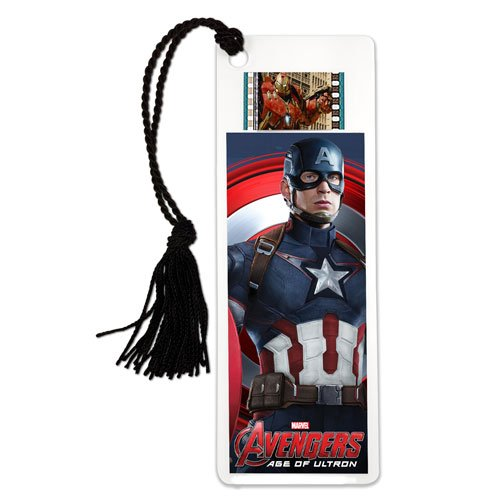 Avengers: Age of Ultron Film Cell Bookmark (Captain America) (Marvel Film Cell Bookmark)