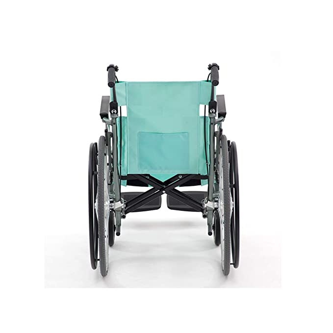 Amazon.com: YE ZI silla de ruedas plegable, ultraligera ...