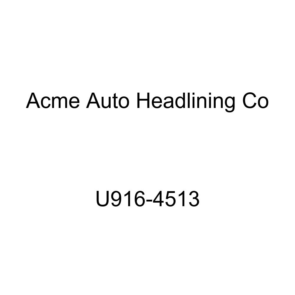 Acme U916-4513 Front and Rear Dark Green Vinyl Bench Seat Upholstery