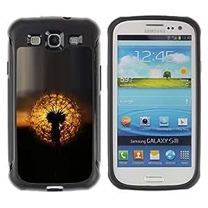 Suave TPU GEL Carcasa Funda Silicona Blando Estuche Caso de protección (para) Samsung Galaxy S3 III I9300 / CECELL Phone case / / oduvanchik solnce zakat /