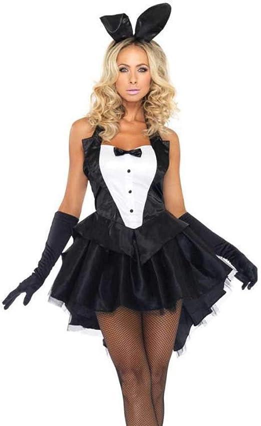 Sexy Conejita Conejo Cosplay Halloween Disfraz Adulto Carnaval ...