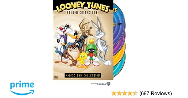 Amazon com: Looney Tunes: Golden Collection, 4-disc DVD collection