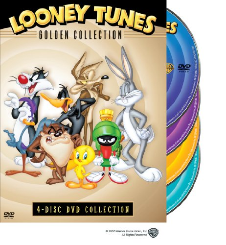 - Looney Tunes: Golden Collection, 4-disc DVD collection