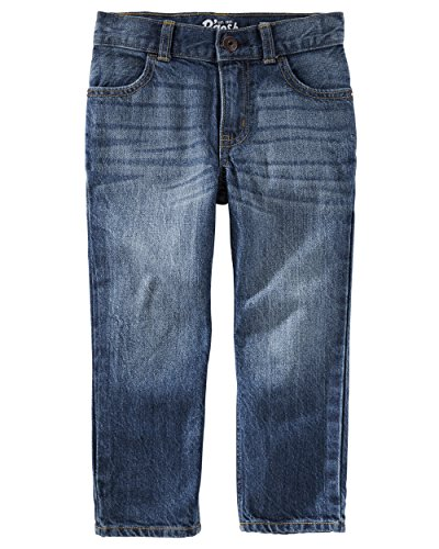 (Osh Kosh Boys' Straight Jeans, Authentic Tinted, 3T)