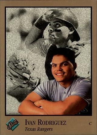 Amazoncom 1992 Studio Baseball Card 246 Ivan Rodriguez Near Mint