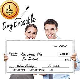 Giant Fake Check for Endowment Award - 32\